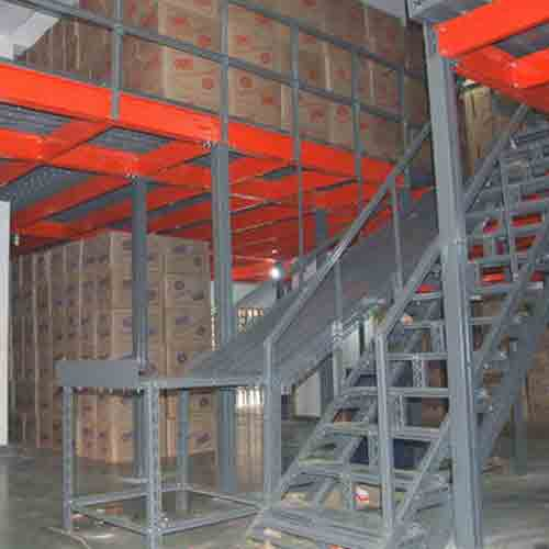 Modular Mezzanine Floor In Tronica City
