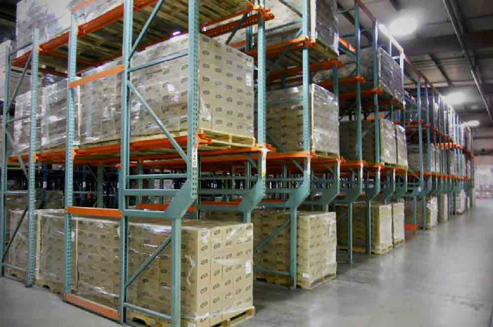 Warehouse Pallet Storage Rack In Khushkhera